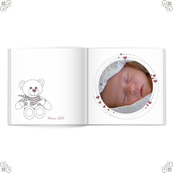 Fotobuch Teddy Design