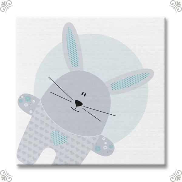 Babyzimmermotiv für Hasenliebhaber