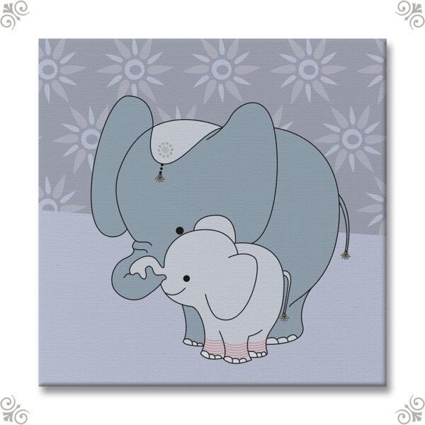 Geschenkidee Babyzimmer Elefant