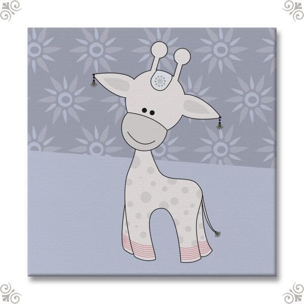 Geschenkidee Babyzimmer Giraffe