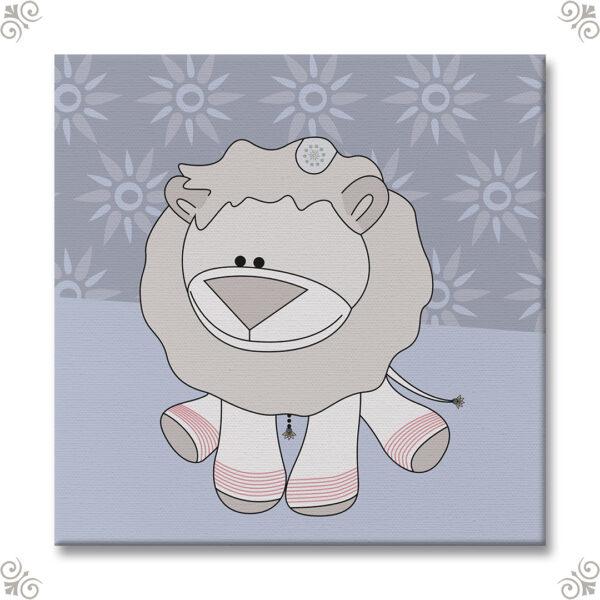 Geschenkidee Babyzimmer Löwe