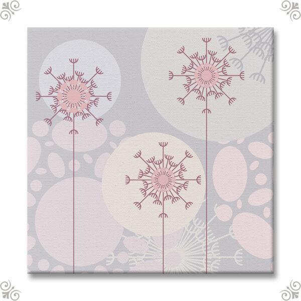 Florales Design für einen Kunstdruck