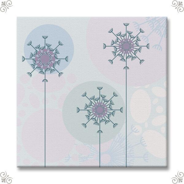 Floraler Kunstdruck