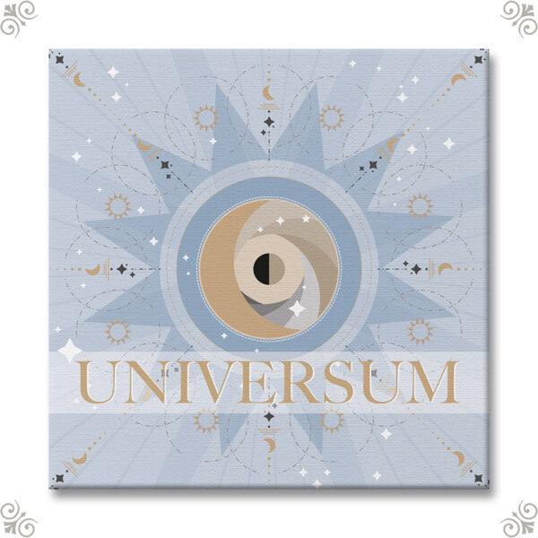Eine grafische Interpretation Motiv Universum 2