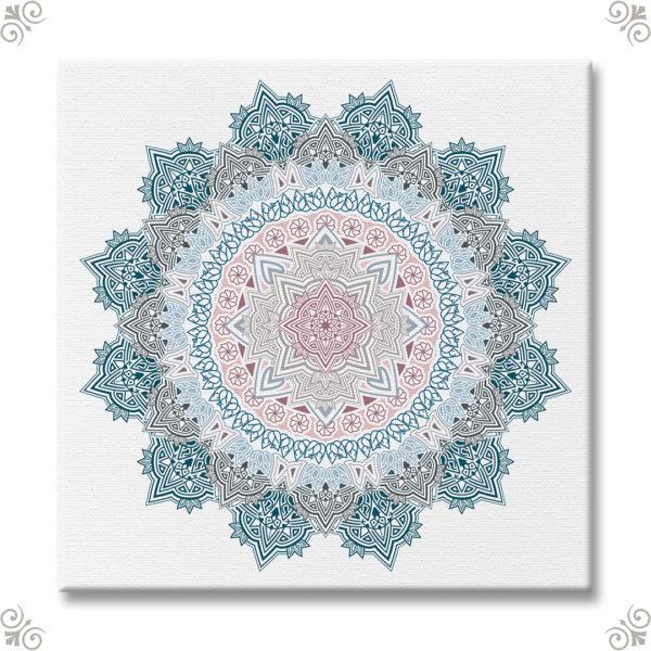 Mandala als Wanddekor