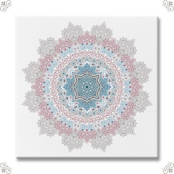 Mandala als Wanddekor I