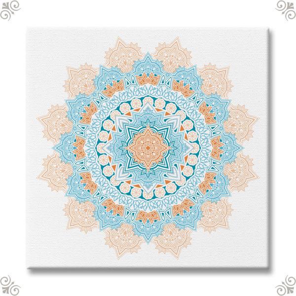 Mandala als Wanddekor 2